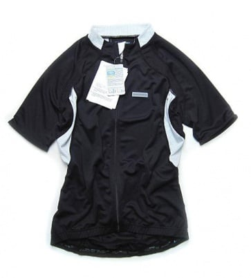 Shimano Performance Insert cycling jersey short sleeve black