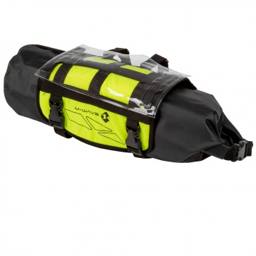 M-Wave Handlebar Bag Bikepacking Neon Yellow 10L