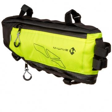 M-Wave Triangle Bag Bikepacking Neon Yellow
