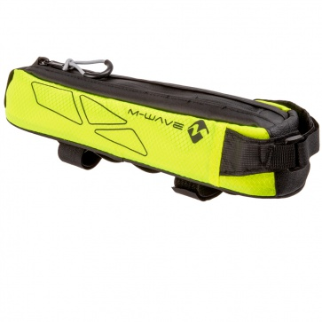 M-Wave Top Tube Bag Bikepacking Neon Yellow
