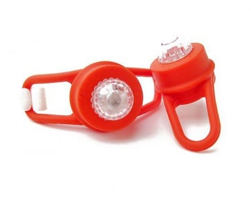 Bicycle Hero Rainbow color LED rear safety lamp
