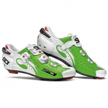 Sidi Wire Carbon Road Bike Shoes Push 2016 Green Fluo