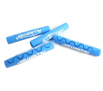 Alligator frame protect cable tube Blue shifter brake
