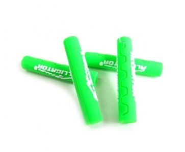 Alligator frame protect cable tube Green shifter brake