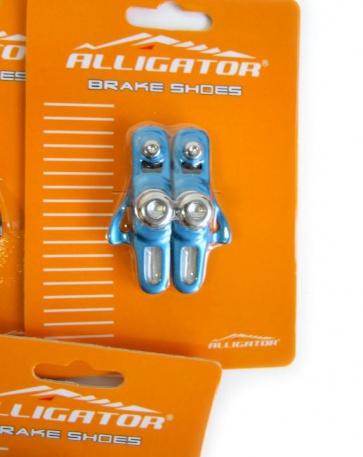 Alligator RD-302 3comp Road bike cartridge brake shoes blue