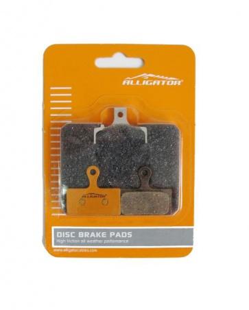 Alligator Shimano M985 M785 organic disc brake pads