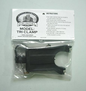 Arundel Tri Clamp Bicycle Water Bottle Cage Mount