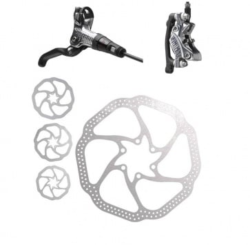 AVID CODE FRONT SILVER 180mm HS1 ROTOR