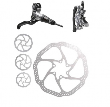 AVID CODE FRONT SILVER 200mm HS1 ROTOR