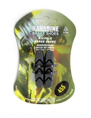 Baradine 455 road bike brake shoes pads 53mm Campagnolo