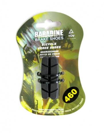 Baradine 460 road bike brake shoes pads 55mm Campagnolo