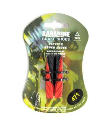 Baradine 471 road bike brake shoes pads 55mm