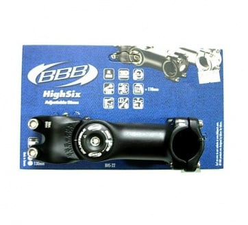 BBB Bike Stem BHS-22 Highsix Adjustable 25.4
