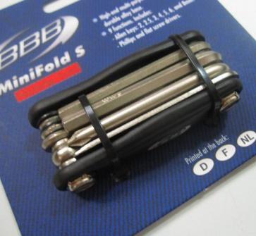 BBB BTL-40S mini folding Tool set 9 functions