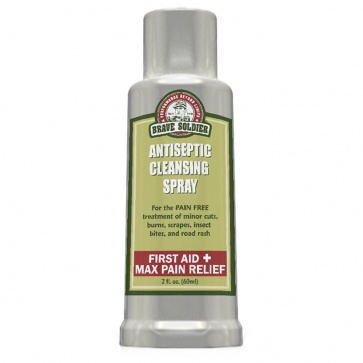 BRAVE SOLDIER ANTISEPTIC CLEANSING WOUND SPRAY