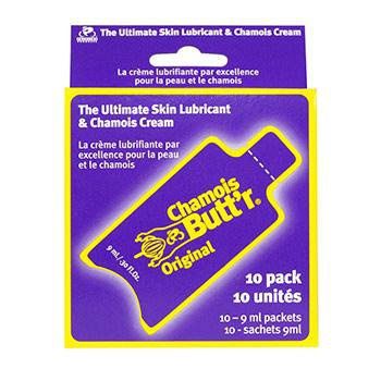 CHAMOIS BUTT'R ORIGINAL CREAM 9ml PACK OF 10