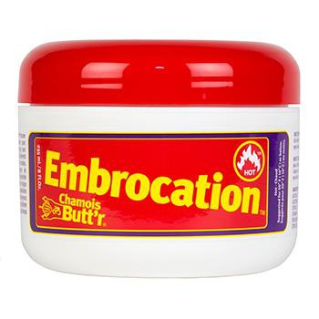 CHAMOIS BUTT'R Hot EMBROCATION 8oz JAR