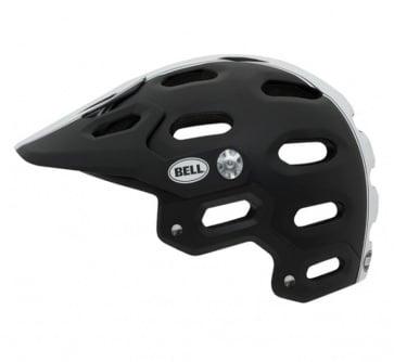 Bell Super Bicycle Helmet Black/White Star
