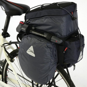 AXIOM PADDYWAGON EXP 19 TRUNK BAG GREY/BLACK