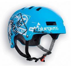 Bluegrass Super Bold Urban Dirt Jump Helmet Blue White