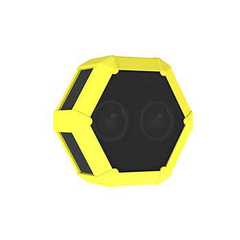 Boombotix Tuffskin For Rex Neon Yellow
