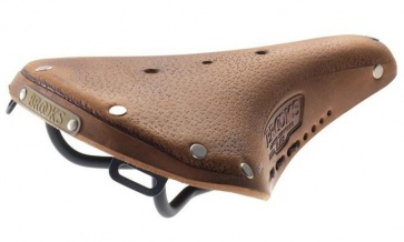 BROOKS B17 S Aged Standard saddle seat Dark Tan