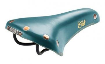 BROOKS colt enamel bicycle leather seat saddle Turquoise