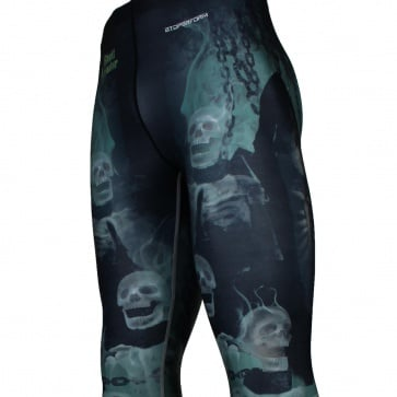 INCARCERATION [FY-115] Full graphic compression leggings