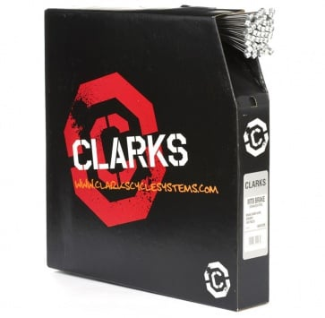 CLARKS BRAKE CABLE SS MTB 1.5x2000mm BOX/100