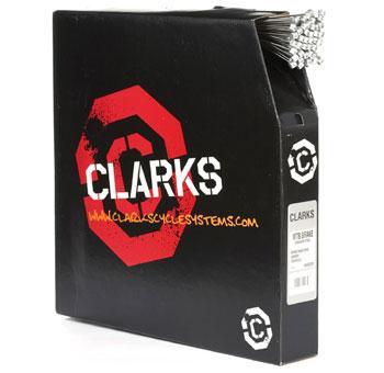 CLARKS BRAKE CABLE GALVANIZED 1.5x2000mm ROAD BOX/100