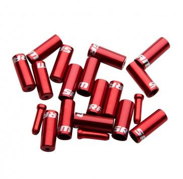 SRAM ALLOY SHIFT FERRULE KIT (10xSHIFT, 6xBRAKE, 4xTIPS) RED
