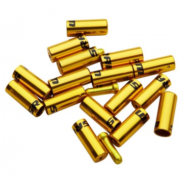 SRAM ALLOY SHIFT FERRULE KIT (10xSHIFT, 6xBRAKE, 4xTIPS) GOLD