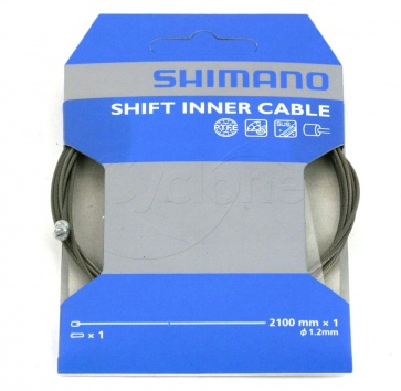 SHIMANO SHIFT CABLE PTFE 1.2x2100mm EACH