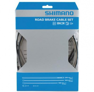 SHIMANO ROAD BRAKE CABLE & HOUSING SET BLACK