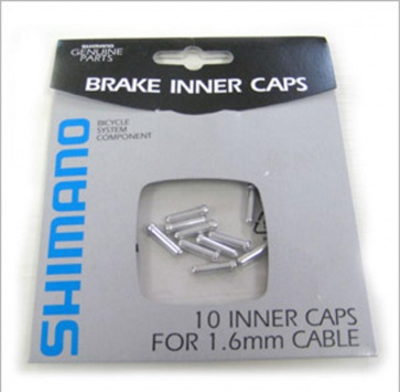 SHIMANO BRAKE CABLE END CAP 1.6mm 10 PACK