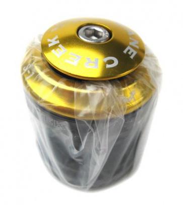 """CaneCreek S1 Bike Headset 1 1/8"""" Gold Classic Fit"""