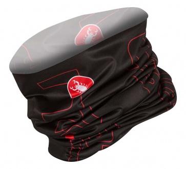 Castelli Lightweight Head Thingy Black-Red