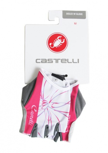 Castelli Dolce W Gloves Womens Cycling Pink