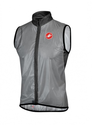 Castelli Sottile Waterproof Wind Vest Gray