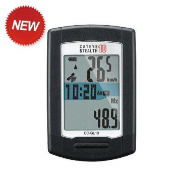 Cateye CC-GL10 Stealth 10 Cycling Computer GPS