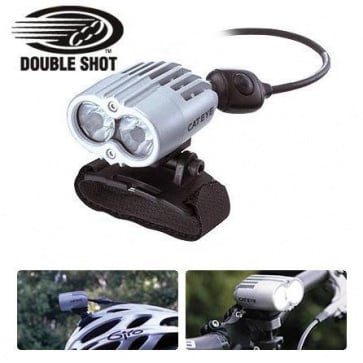Cateye EL-710RC bicycle torch LED head light Rechargeable