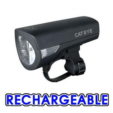Cateye HL-EL340RC rechargable Torch Light LED Front Econom