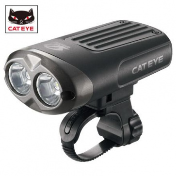 Cateye HL-EL625RC Nano Shot Rechargable Light 600lm