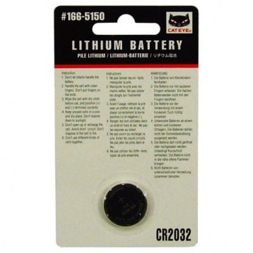 Cateye Lithium Battery For Computers 166-5150