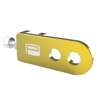 PROMAX C-1 CHAIN TENSIONER 10mm x 2 AXLE HOLE GOLD
