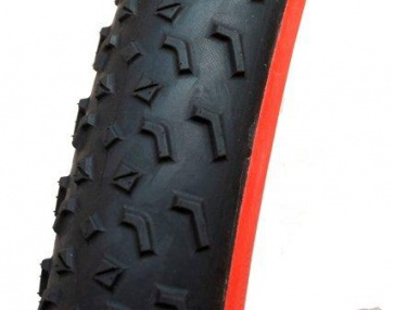 Challenge MTB Two TE Tubular Tyre Tire 27.5x2.2 Black Red