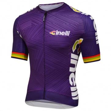Cinelli Italo 79 Aero Jersey- Purple
