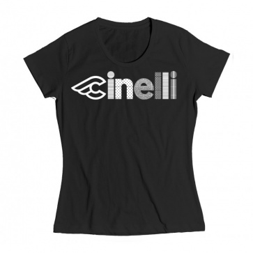 Cinelli Optical Lady T Shirt Black