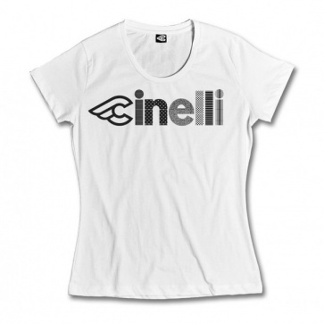 OPTICAL LADY T-SHIRT WHITE
