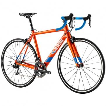 Cinelli Veltrix Caliper Bike Blue Burns Orange